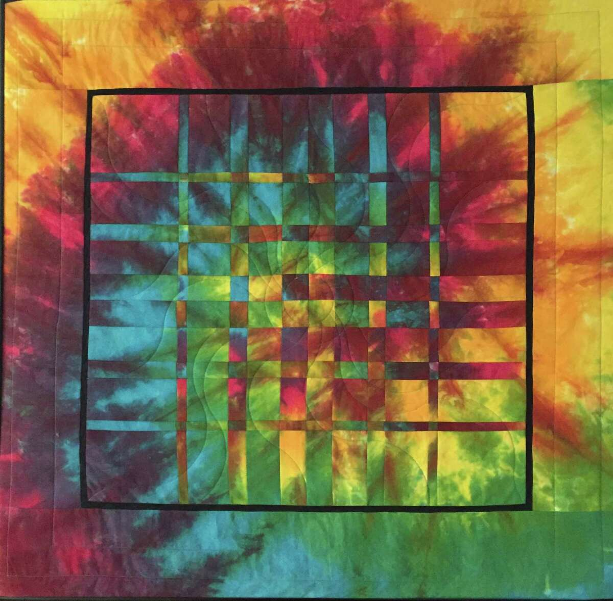 Catherine Lavoie will host a solo exhibit of her quilts titled: Myth, Family & Democracy.