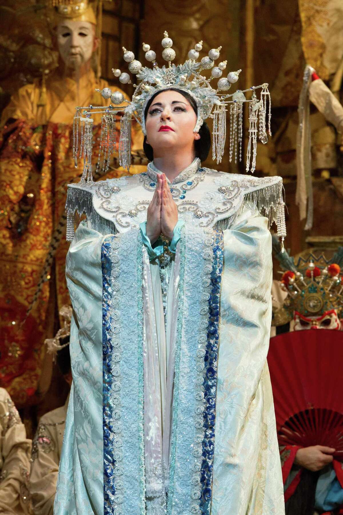 """The 2021-22 season of The Met: Live in HD will include a performance of Puccini's """"Turandot"""" in May 2022. Pictured is a scene from the Met's 2019 performance of the opera."""