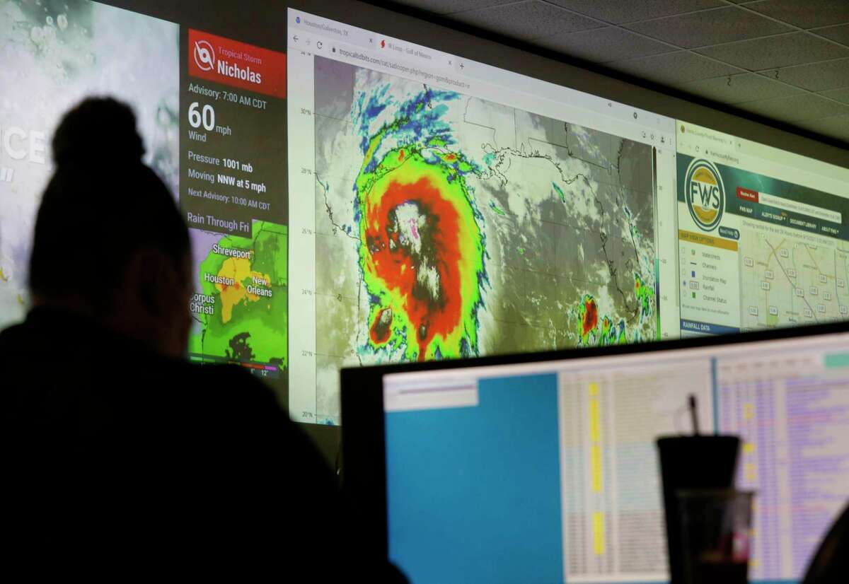 The Houston region is preparing for Tropical Storm Nicholas that is forecast to dump several inches of rain across the area including Montgomery County.