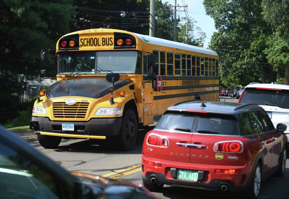 Norwalk Public Schools was not affected by any bus driver walkout on Monday. More than 200 drivers across the state were anticipated not to abide by the governor's vaccine mandate.