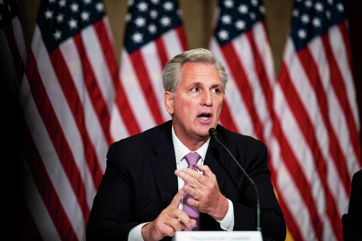 House Minority Leader Kevin McCarthy, R-Calif., has been a vocal critic of the Biden administration's efforts to combat the coronavirus, saying they go too far.