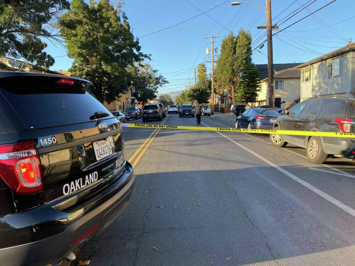 One person was injured in a shooting involving U.S. Marshals in East Oakland Monday afternoon, officials said.