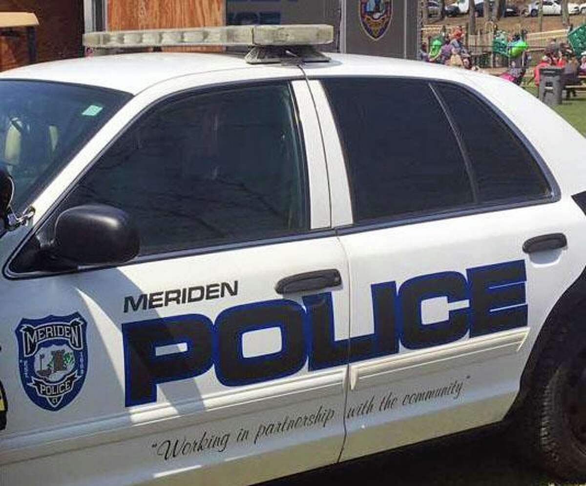 Three men were arrested after fleeing a motor vehicle stop by officers, with two being chased on foot by officers in Meriden, Conn., on Friday, Sept. 10, 2021, according to police.