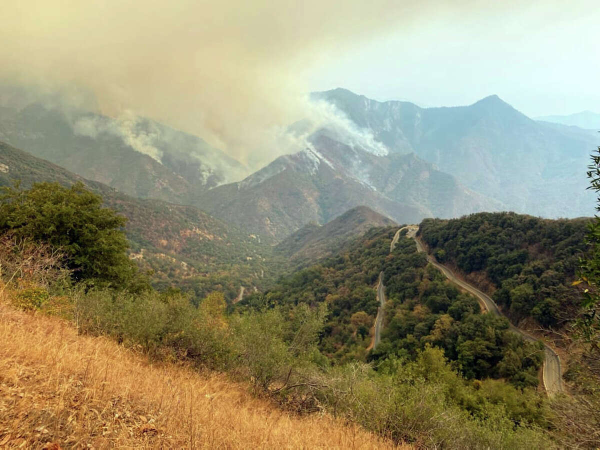 Multiple wildfires started in Sequoia and Kings Canyon national parks on Sept. 9, 2021