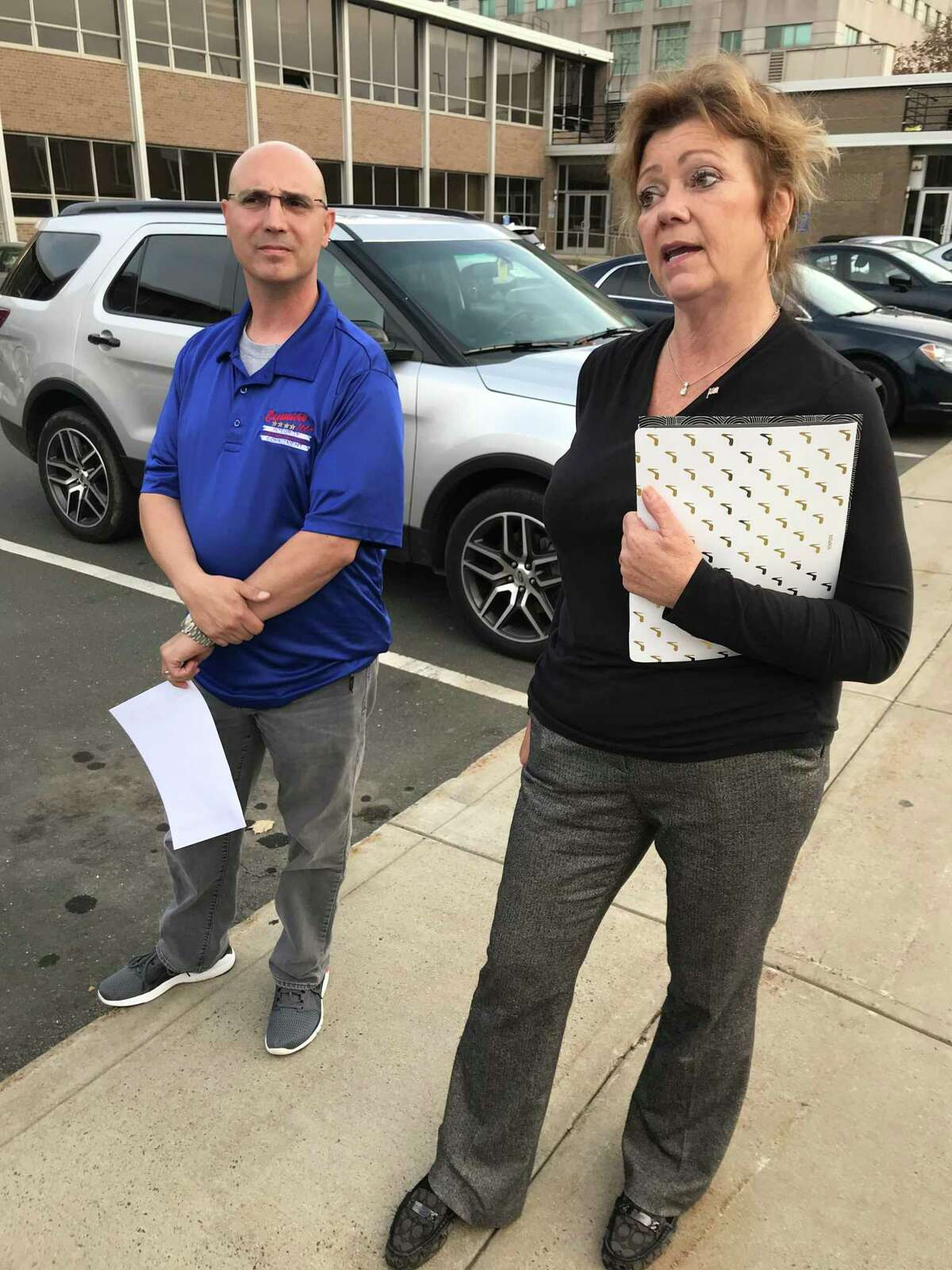 Linda Szynkowicz of Middletown, founder and president of Fight Voter Fraud Inc., in a file photo.