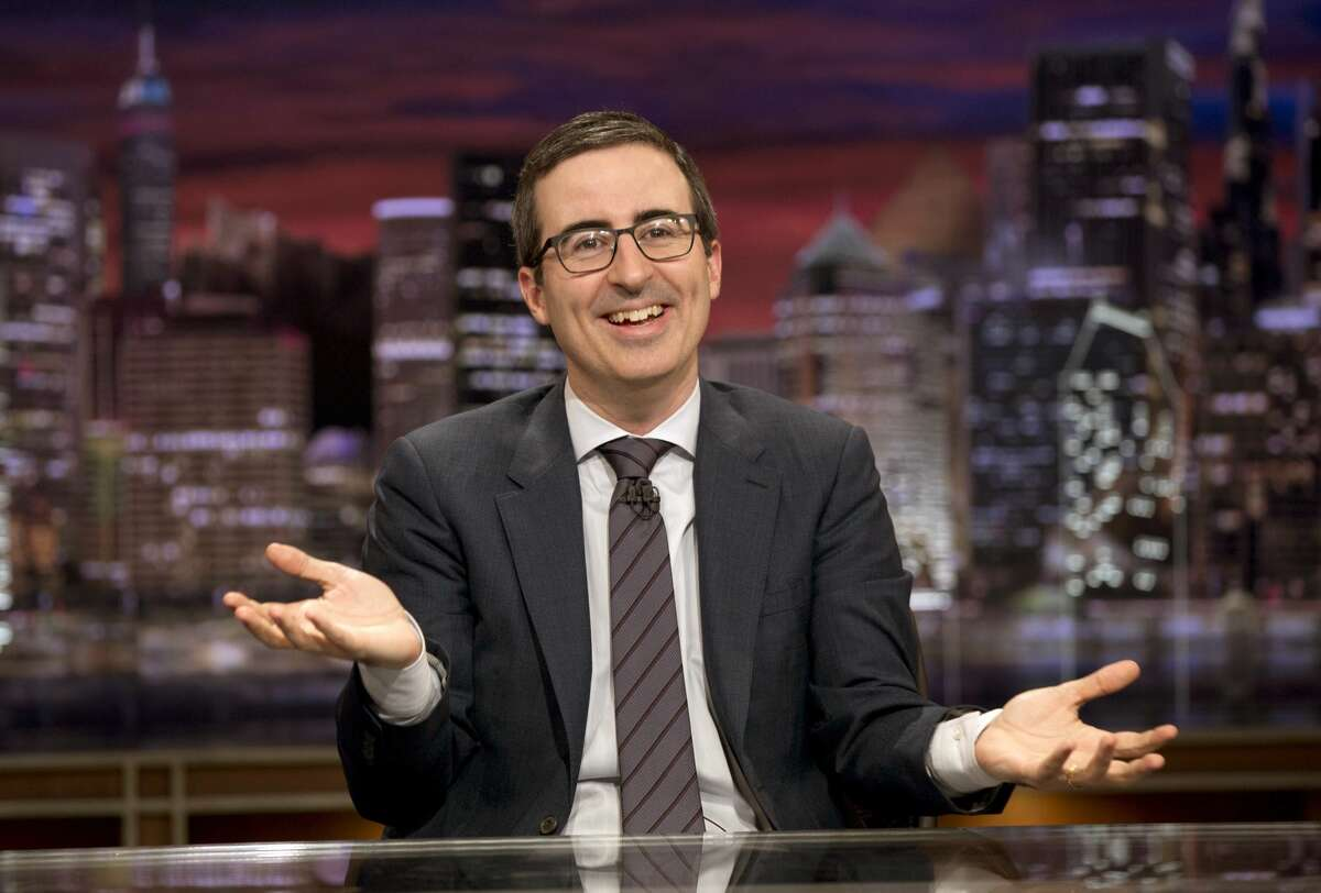 """""""Last Week Tonight"""" host John Oliver ripped into Texas Gov. Greg Abbott for the state's new restriction abortion law on Sunday."""