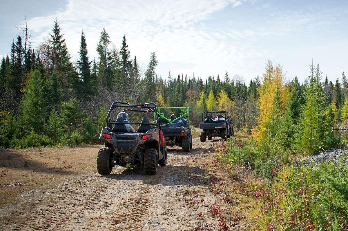 ATV/ORV trail ride from Champion to Big Bay, Marquette Co.