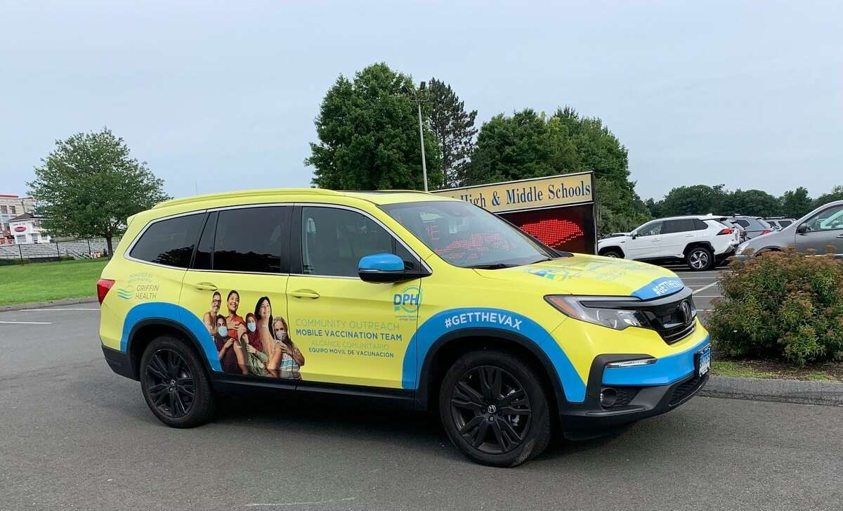 Griffin Hospital and the state Department of Public Health's vaccination van visits New Fairfield twice a week, and will be at this weekend's New Fairfield Day event.