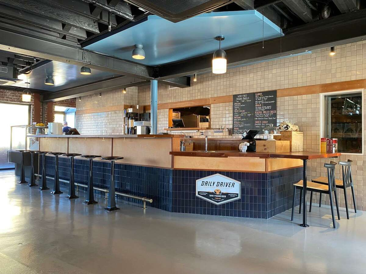 Inside Daily Driver's new location at Ghirardelli Square, opening Sept. 16.