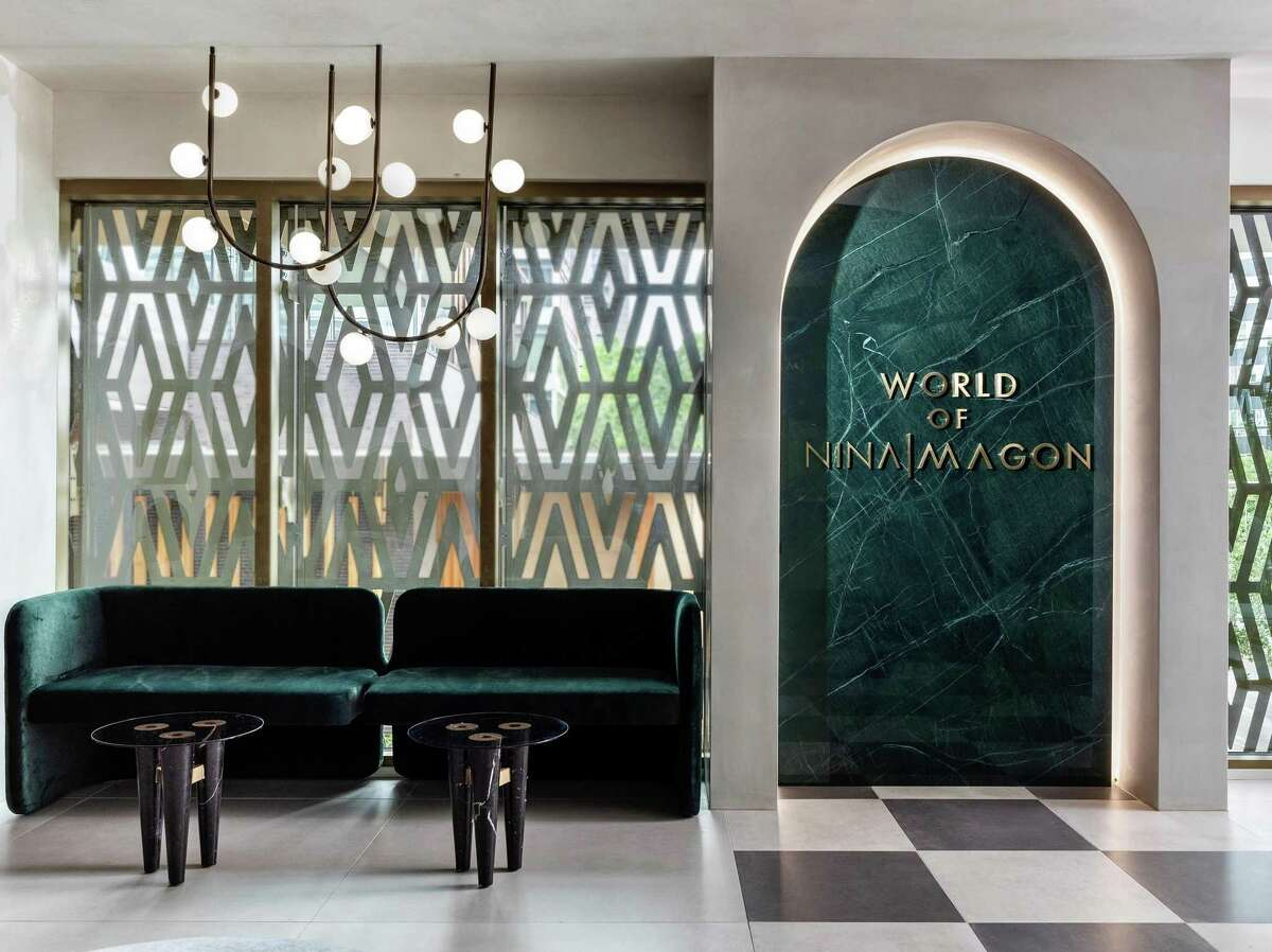 The Nina Magon VIP Lounge at Zadok Jewelers in the recently-opened Post Oak Place in the Galleria area.