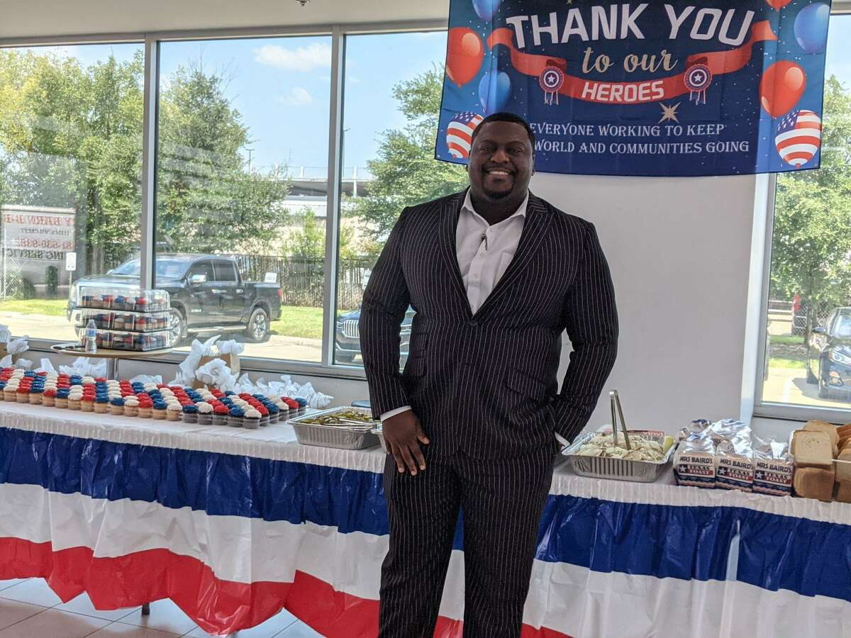 """""""We decided to have a first responders luncheon to show appreciation for the hard work that they do for us here in the city that goes unnoticed,"""" said Steve Riddick, general manager at Sterling McCall Nissan."""