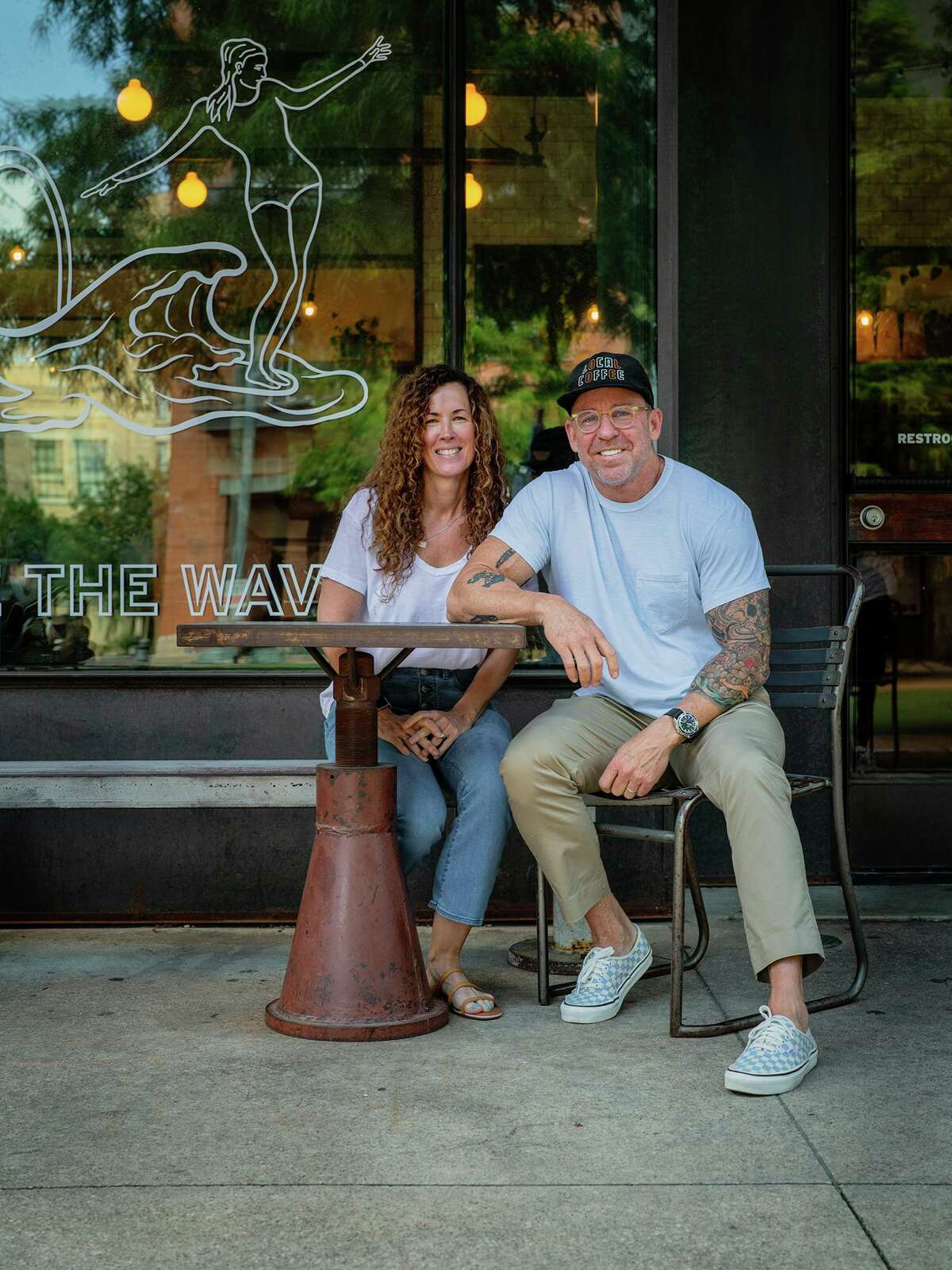 Local Coffee Founders owners Neesha and Robby Grubbs are the owners of Kineapple, a new healthy food concept moving into the Pearl's Bottling Department food hall later this month.