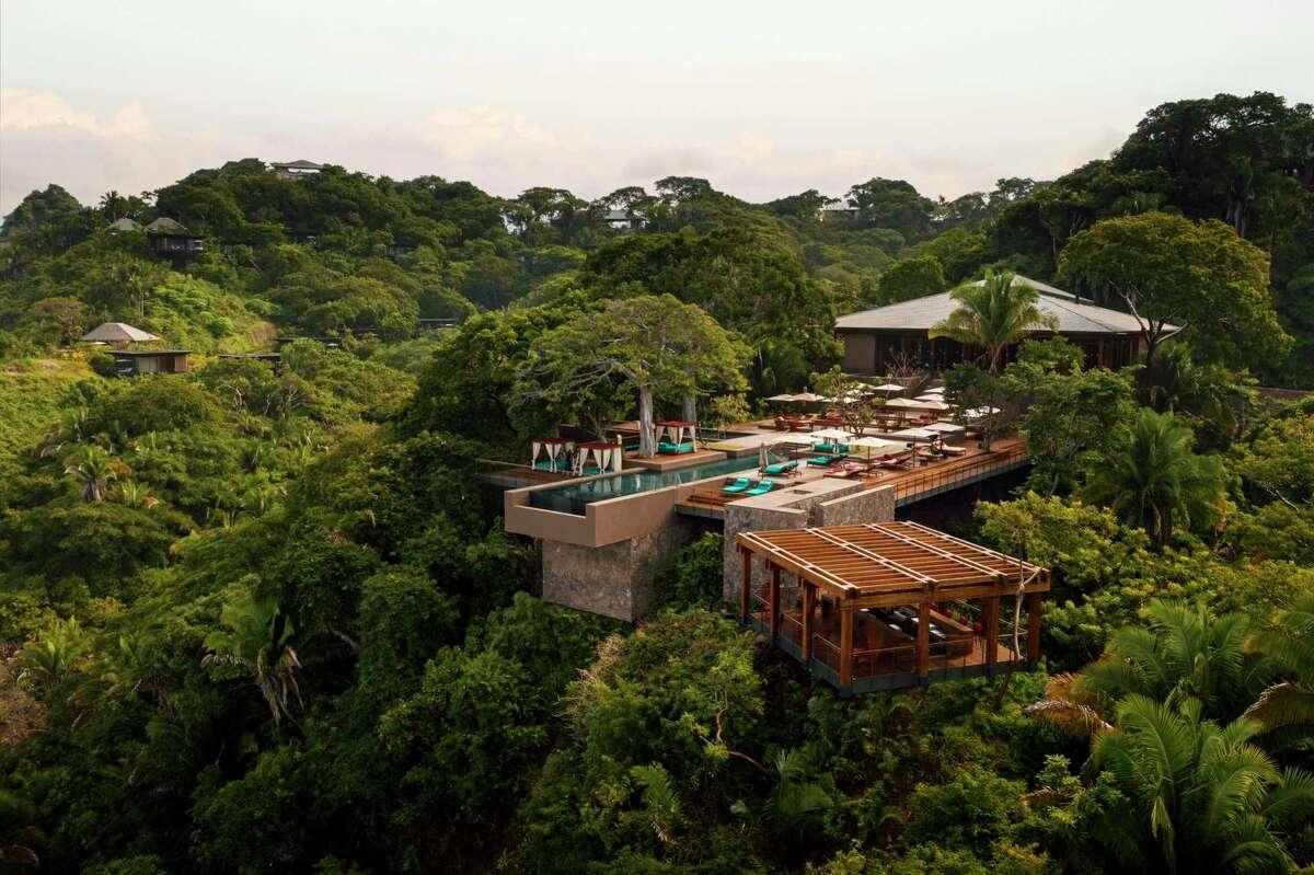 The main pool at One & Only Mandarina