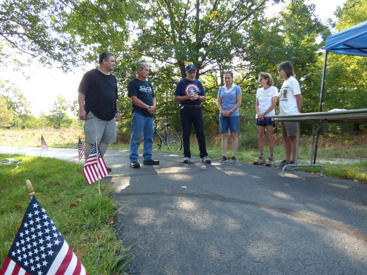 A Patriot Day observance was held at North Point Park in Onekama in commemoration of the 20 year anniversary of the Sept. 11 attacks.
