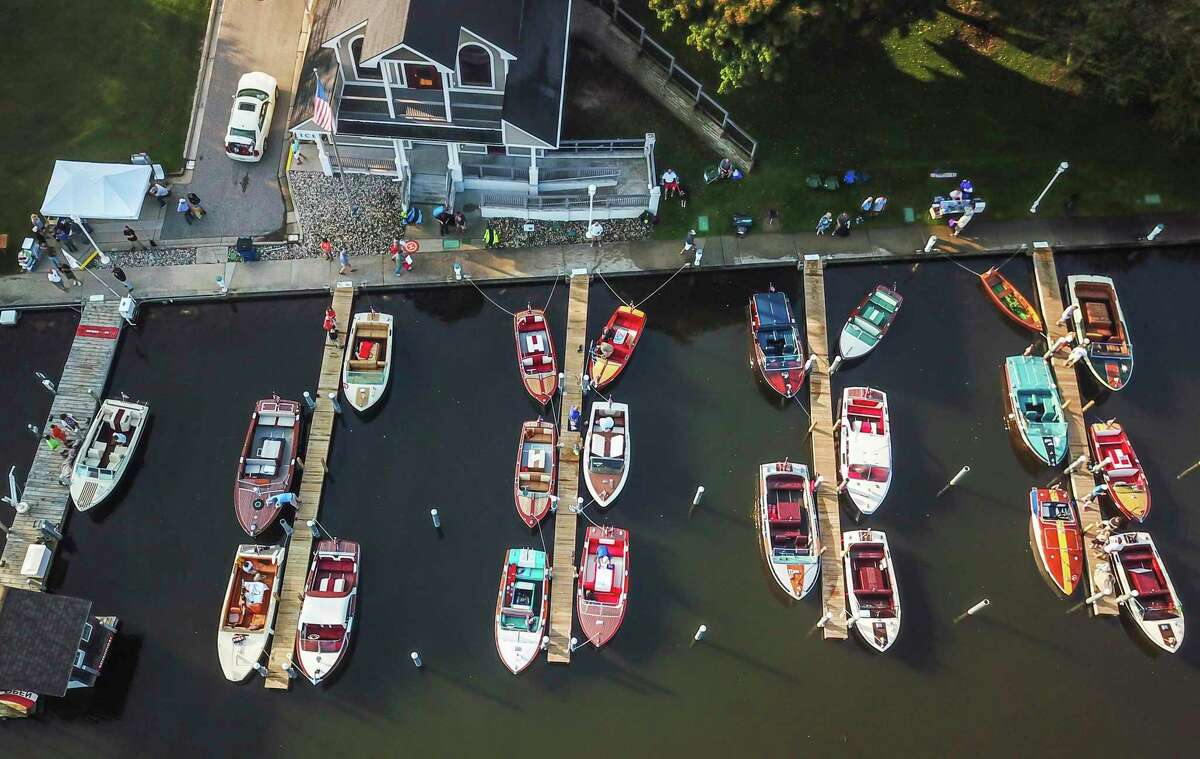 Hops and Props returns this year with a signature attraction, the classic Century Boat Show. The event runs from 1-6 p.m. and the boat show is from 10 a.m. to 4 p.m. on Saturday. (Courtesy photo)