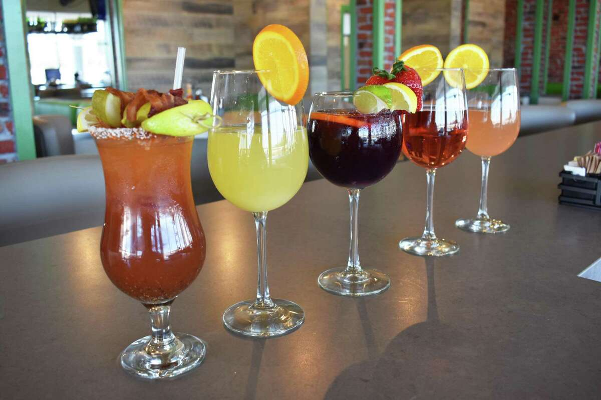 The Toasted Yolk Cafe serves a variety of specialty drinks