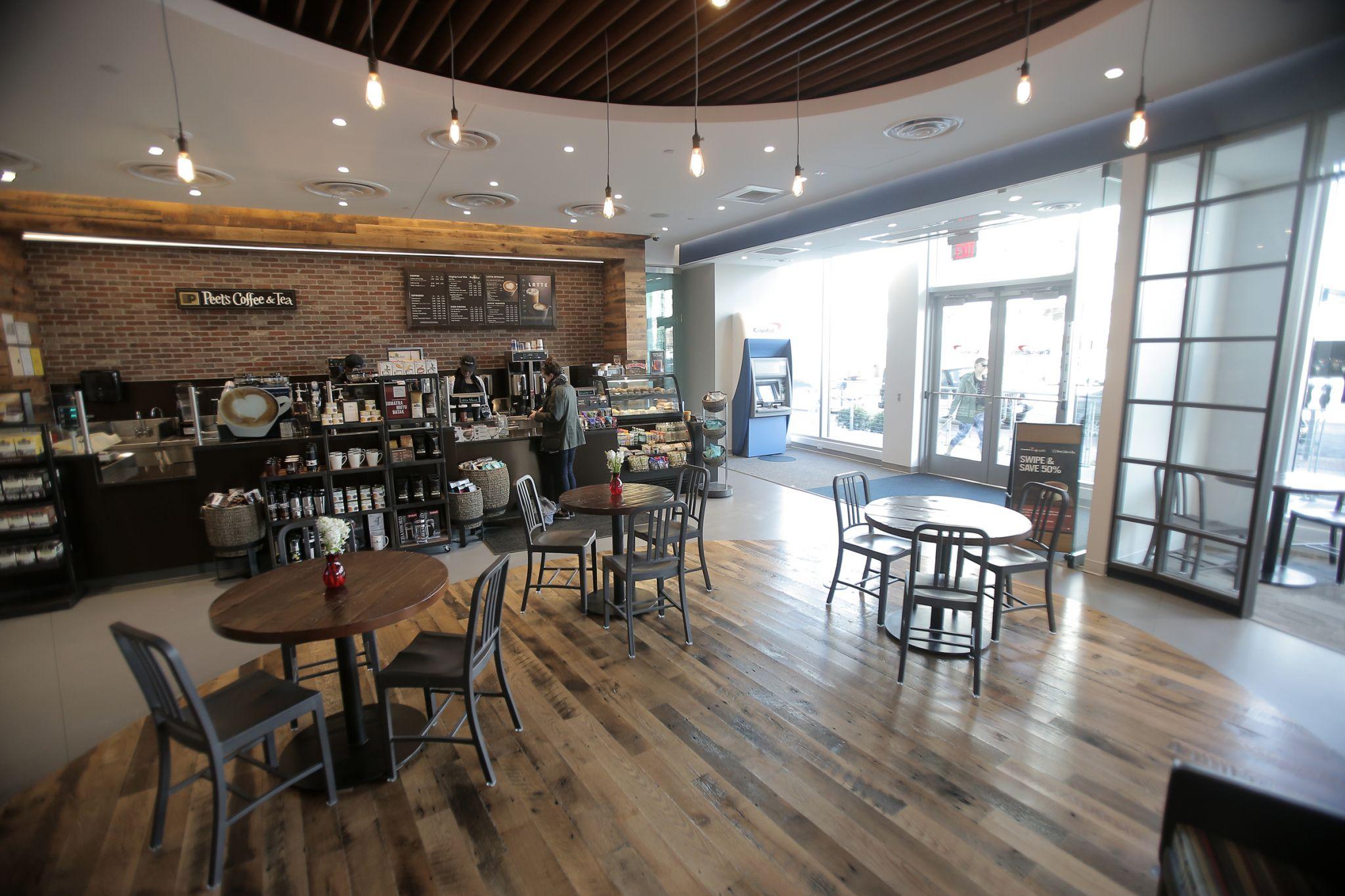 Capital One Café hadir di San Antonio di Shops at La Cantera