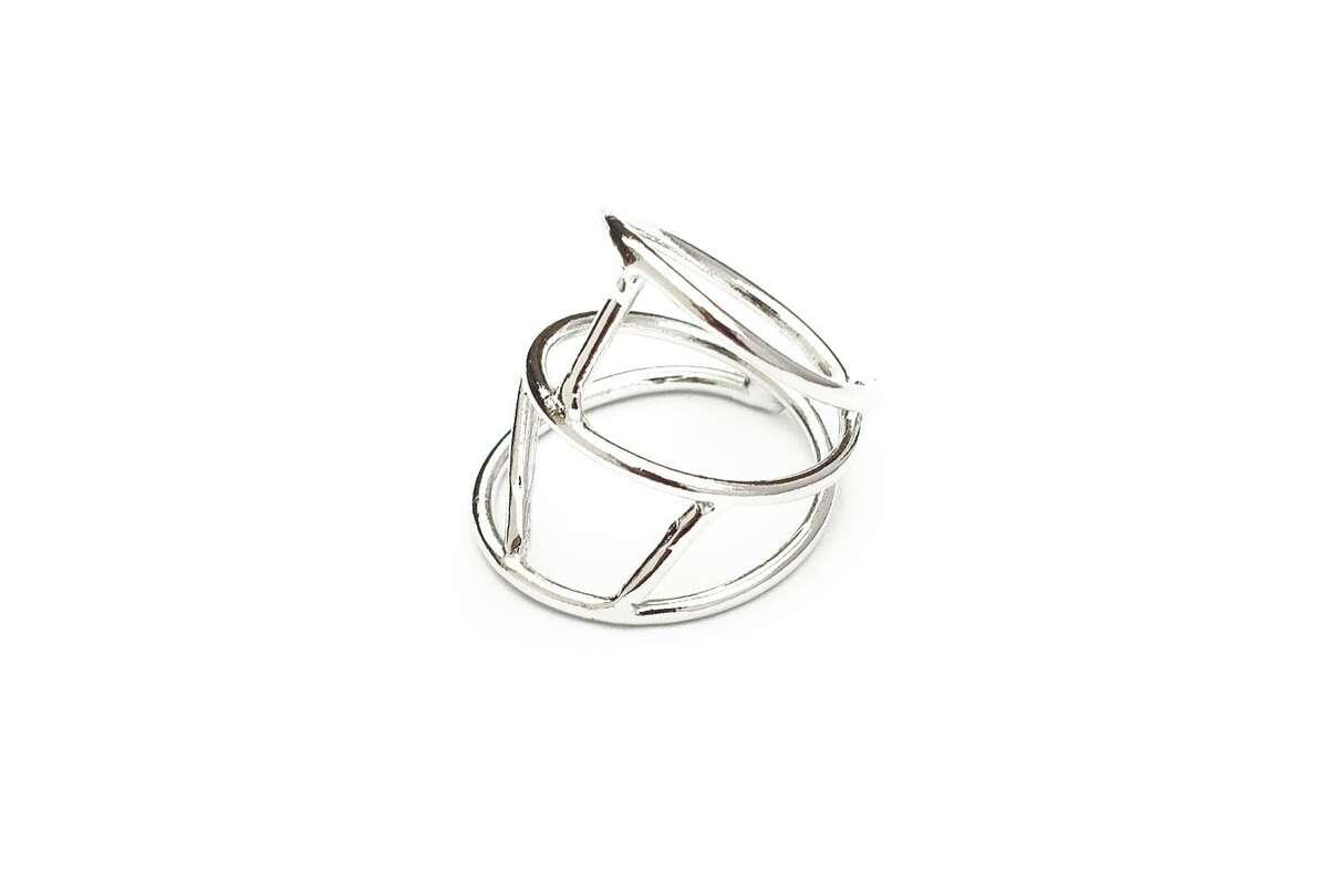 Austin jewelry designer Nina Berenato's modern, minimalist rings are $70.