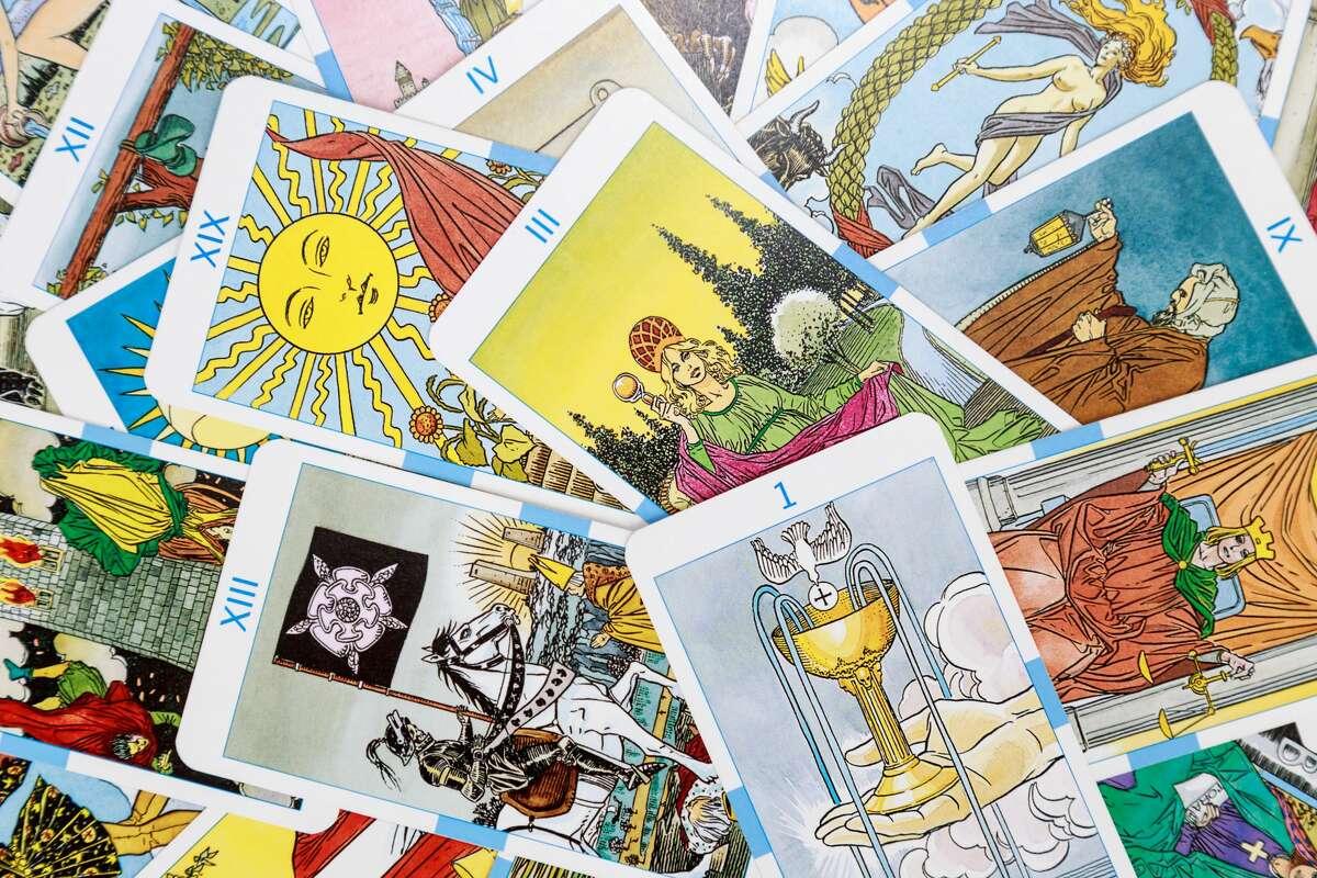 File photo: Tarot cards.