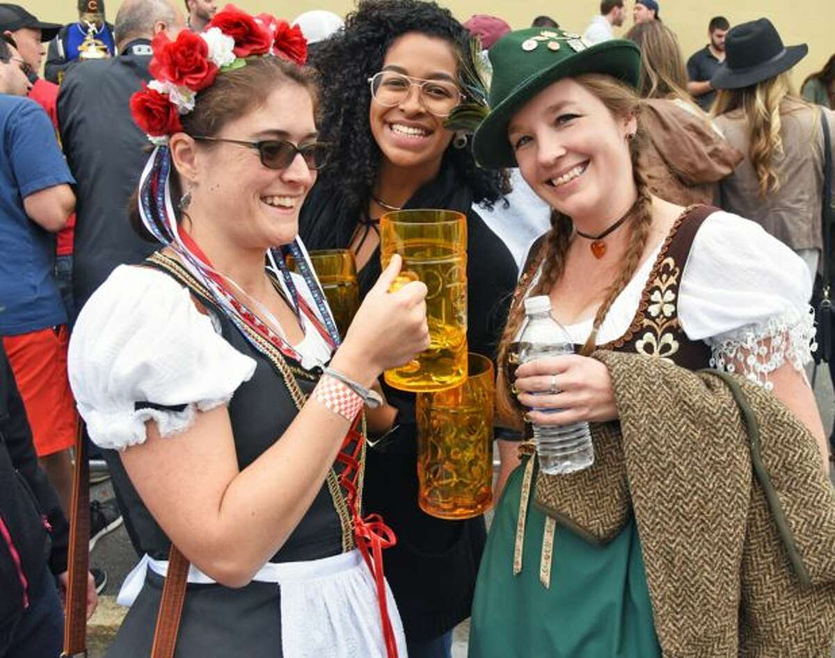 Hunter Mountain's Oktoberfest, similar to the one picured here in Albany, is canceled this year.