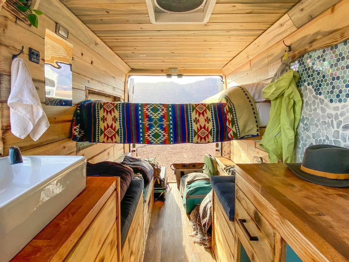A growing public interest in #vanlife - fueled by social media and, for some, the ability to work remotely in the pandemic - has made campervan vacations an increasingly popular travel option for all ages.