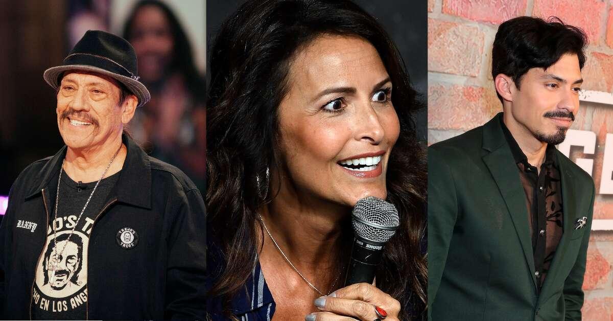 Danny Trejo, Lisa Alvarado and Carlos Santos are bringing the lols to San Antonio. Credit: NBC/Michael S. Schwartz/Leon Bennett