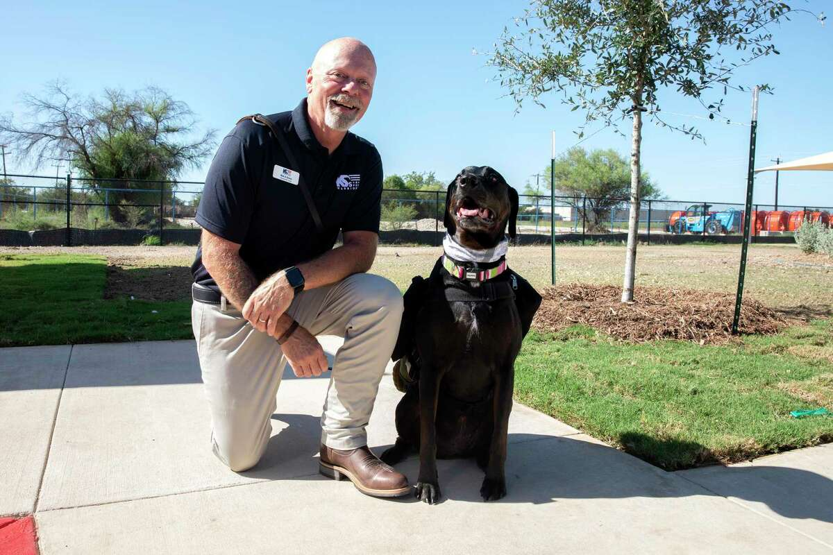 Bob Jones, who served in the Army for 27 years, was given Grace to help with his PTSD.