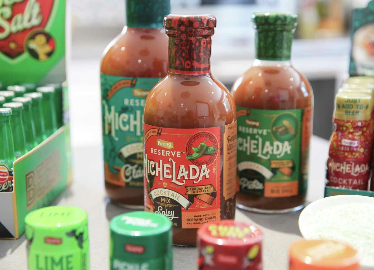 """New partnerships have led to """"a transformation of Twang,"""" says CEO Elysia Treviño-Gonzales. In addition to beer and margarita salts, Twang makes a michelada mix and a coffee topping."""