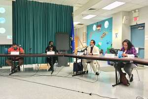 A special meeting of the Bridgeport Board of Education. Aug. 19, 2020