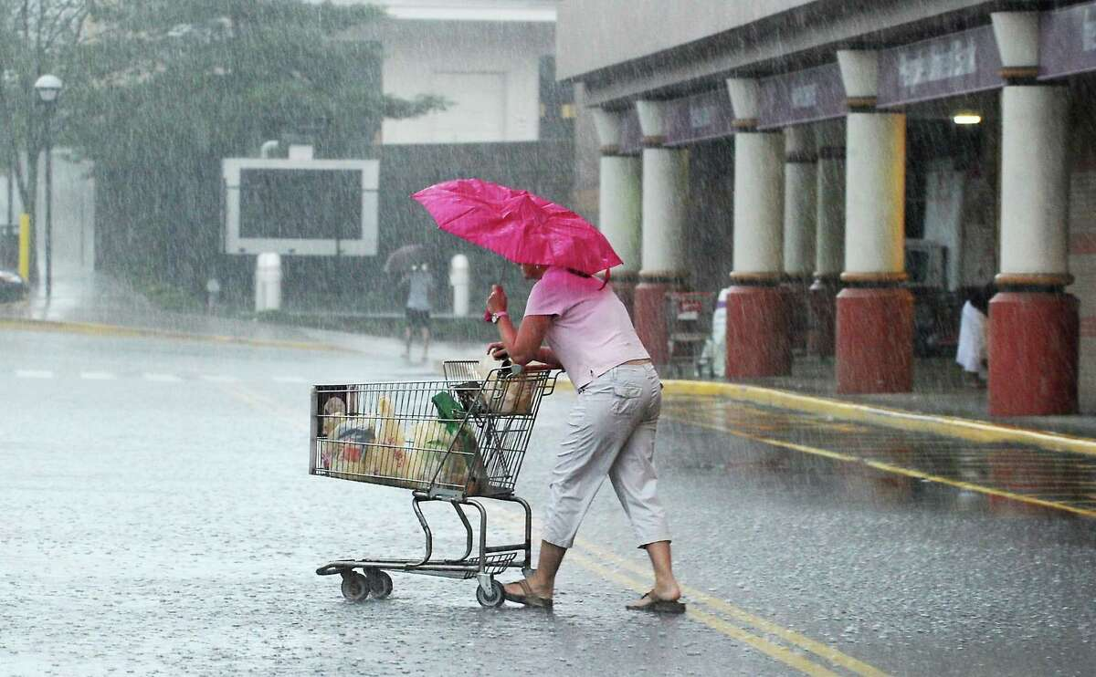 As a cold front moves in Wednesday, Sept. 15, 2021, into Thursday, it is expected to bring with it heavy rain and the threat of scattered thunderstorms.