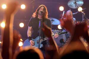NEW YORK, NEW YORK - SEPTEMBER 12: Dave Grohl of Foo Fighters performs onstage during the 2021 MTV Video Music Awards at Barclays Center on September 12, 2021 in the Brooklyn borough of New York City.