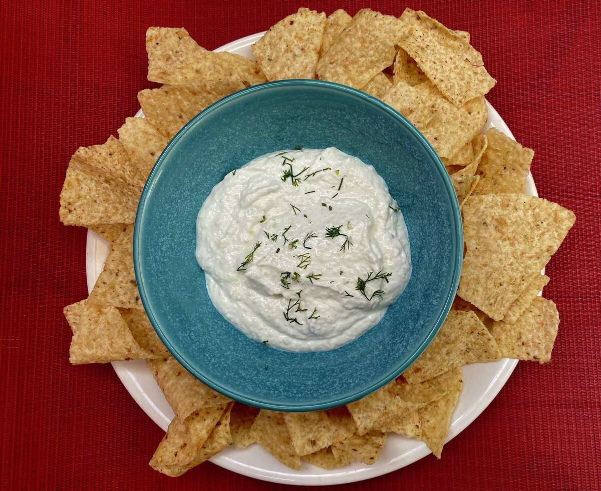 """""""Come On Over!"""" author Elizabeth Heiskell calls Cold Cucumber Dip a knockout."""
