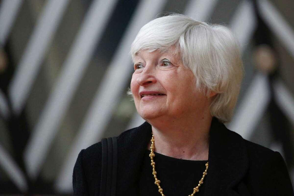 Janet Yellen, U.S. Treasury secretary, in Brussels on July 12, 2021.