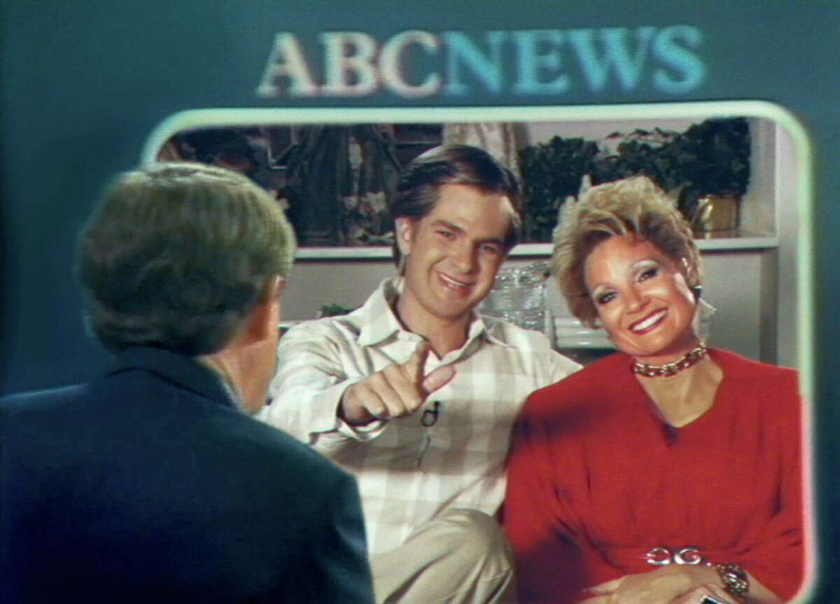 """Andrew Garfield, left, and Jessica Chastain in """"The Eyes of Tammy Faye."""""""