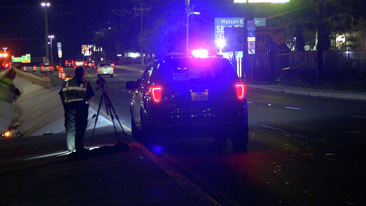 A 62-year-old man was hit and killed by a vehicle while attempting to cross Loop 410 on the South Side, San Antonio police said.