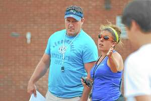 Pete Paguaga Register Citizen Jenn Stango begins her second year on the sideline as an assistant coach for Wolcott Tech under head coach Jamie Coty. ¬