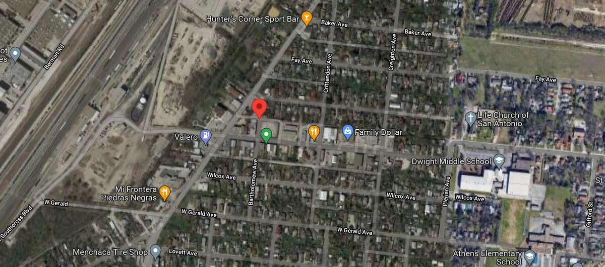 A teenager was killed and another man was hospitalized after an altercation escalated into a stabbing in the 200 block of Bartholomew Avenue on the Southeast Side. The map shows the location of the incident.