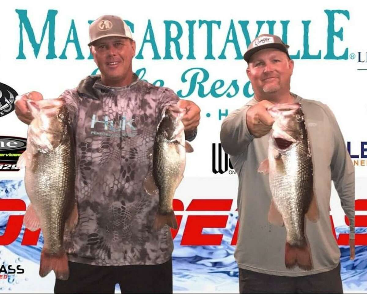Tommy Baker and Ronnie Wagner came in first place in the CONROEBASS Tuesday Tournament with a weight of 12.97 pounds.