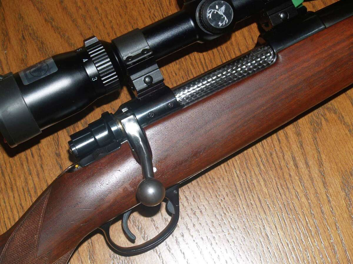This Model 98 Mauser bolt action rifles in .308 Winchester will take anything in North America except for possibly big bears.
