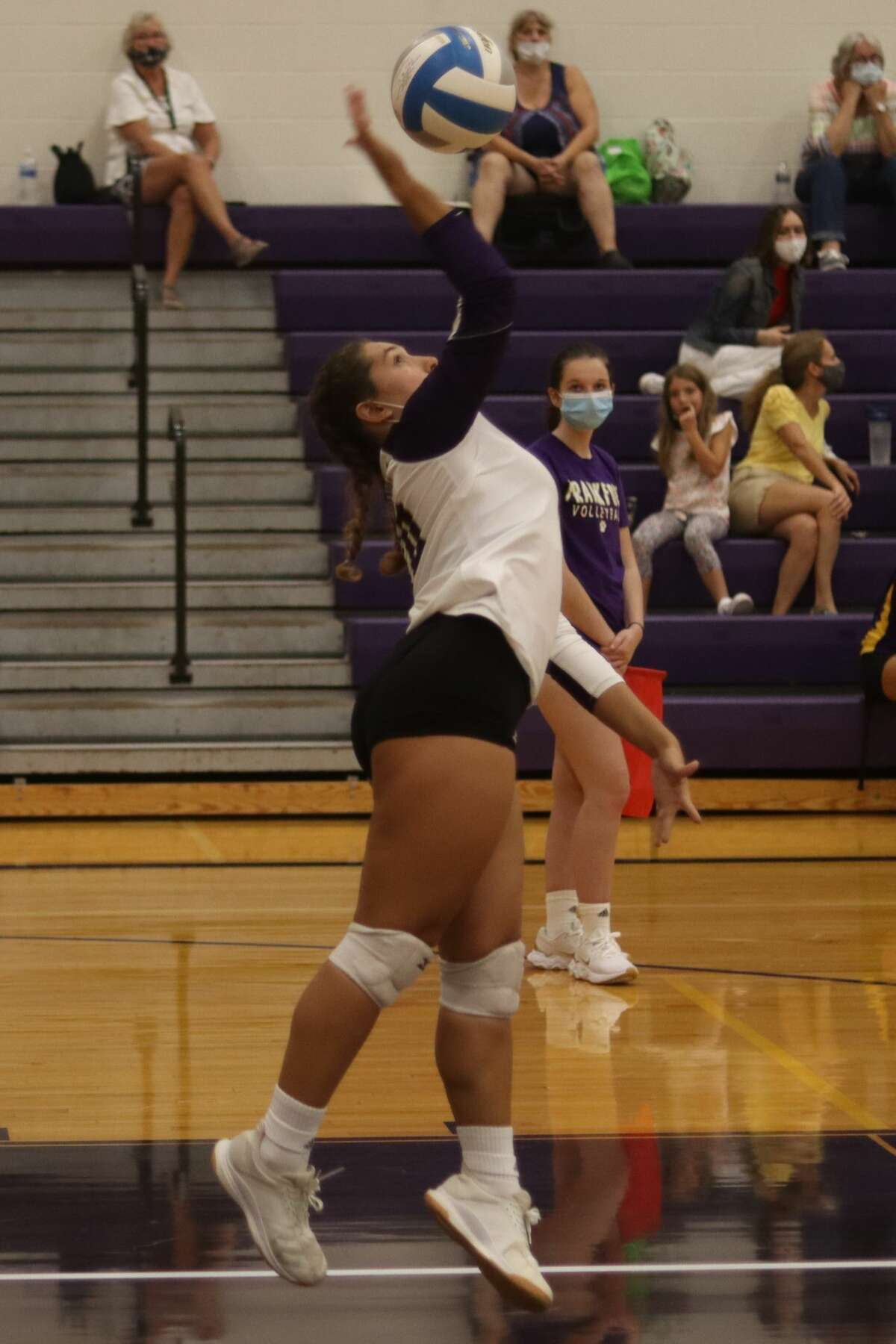 The Frankfort Panthers host the Kingsley Stags in varsity volleyball on Sept. 15.