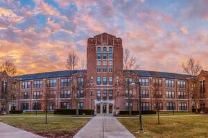 Pictured is Warriner Hall at Central Michigan University.