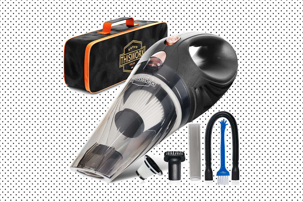 THISWORX Car Vacuum Cleaner, $20.99 when you clip the 40% off on-page Amazon coupon