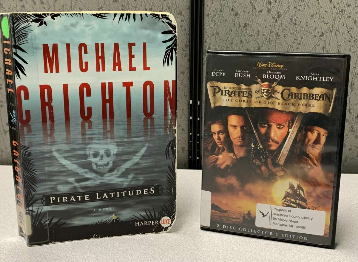"""Set in Jamaica in 1665, """"Pirate Latitudes"""" by Michael Crichton sees Captain Hunter taking on the Spanish military in an attempt to commandeer a Spanish galleon filled with treasure."""