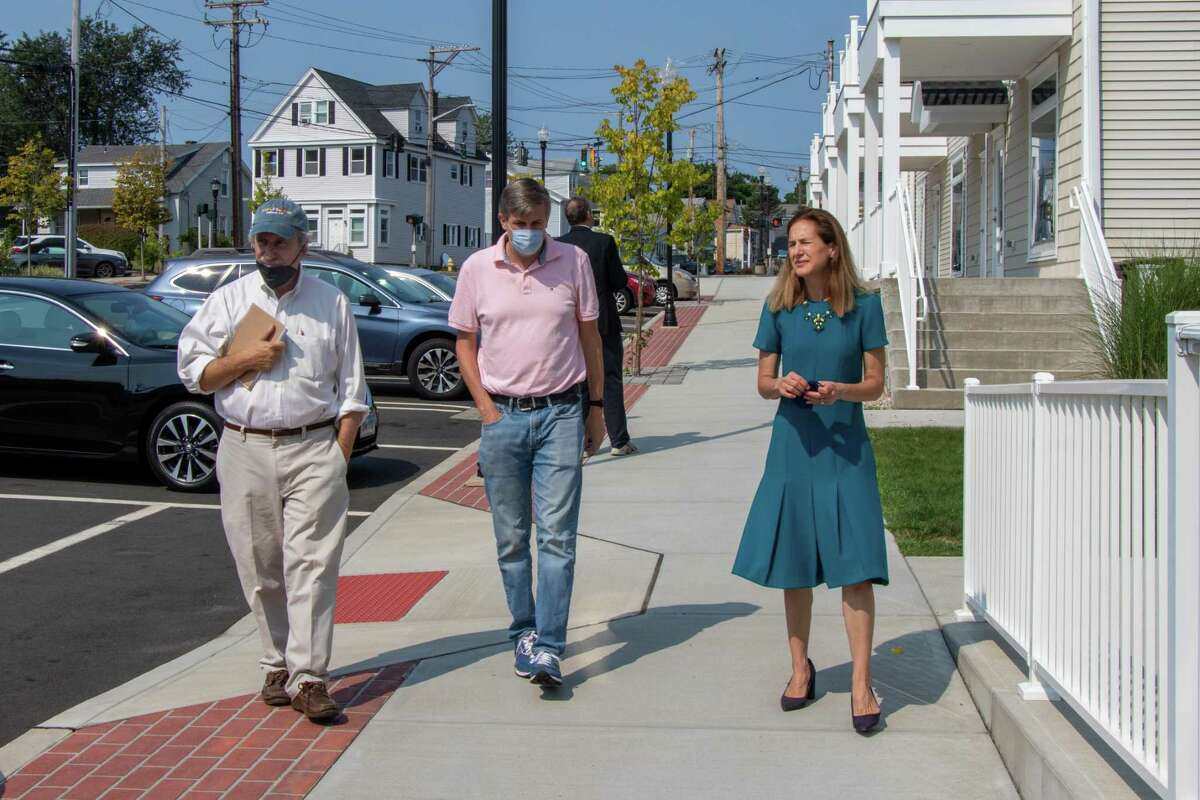 Lieutenant Governor Susan Bysiewicz visits local businesses in Milford