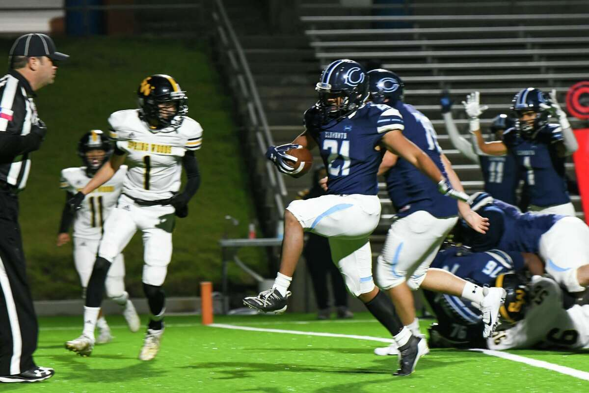 Clements junior running back Dimas Kusuma made the All-District 20-6A first team after leading the Rangers with 575 yards and eight touchdowns.