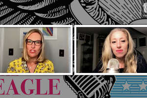 Kristi Gustafson Barlette talks with Jessica Marshall about how readers reacted to a column Barlette wrote about children wearing masks at school.