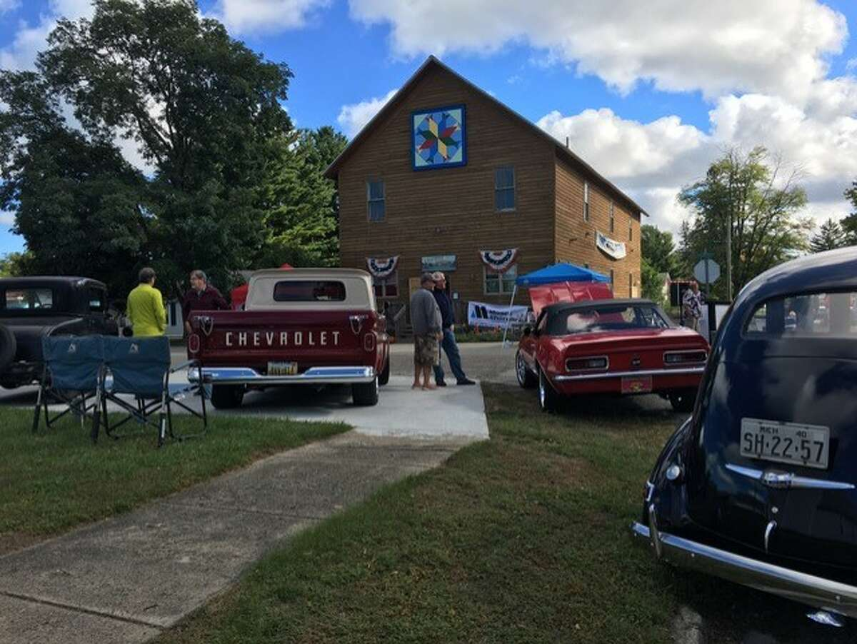 Some of the cars on display at past Caseville classic car shows. This year will feature a parade going through the heart of Caseville once all the accolades are given. (Caseville Historical Society/Courtesy Photo)