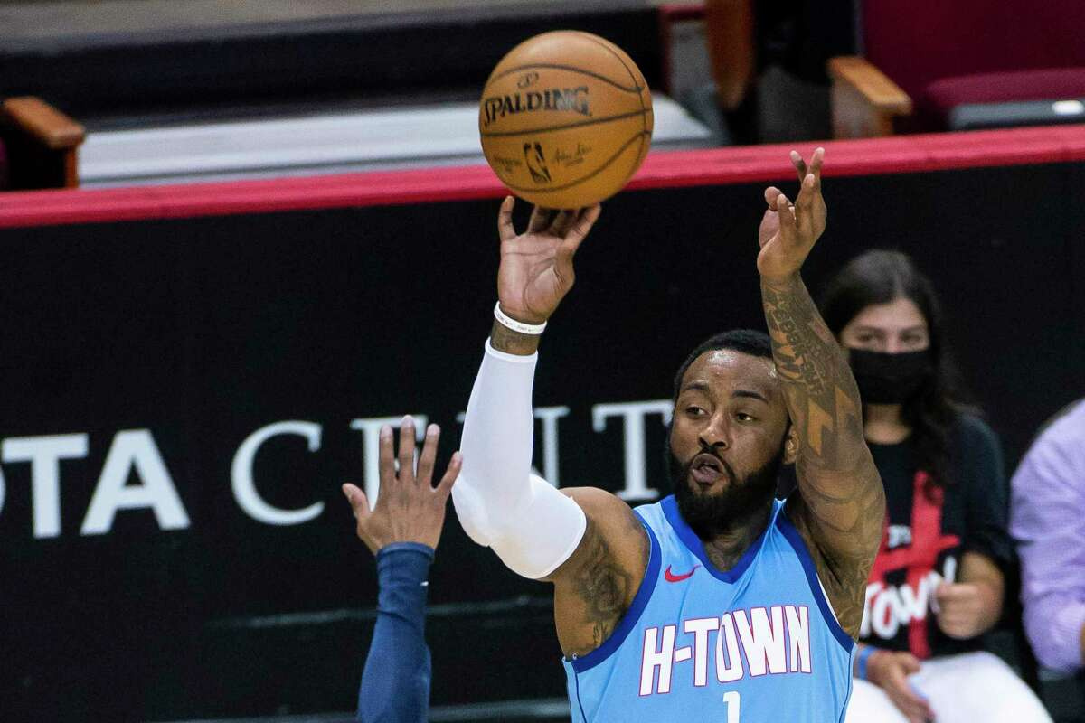 John Wall shot a career-worst 40.4 percent from the field in his one season with the Rockets.