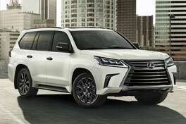 The 2021 Lexus LX570 is a body-on-frame true sport-utility vehicle with fulltiime four-wheel drive and low-range gearing for serious off-road driving.