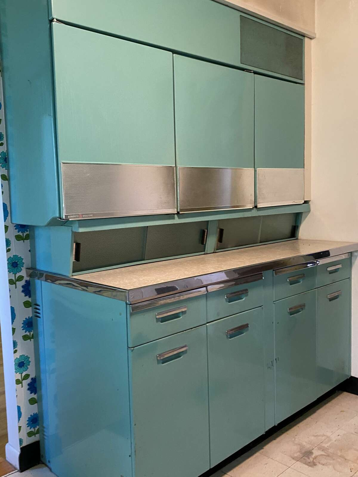 When 1 Gingerbread Lane, Albany, was built in 1955, the turquoise kitchen appliances were state-of-the art. When the homeowners put the house on the market this summer, the kitchen was untouched.